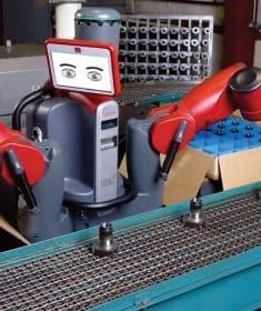 Cute Red Robot